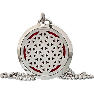 Flower of Life Aromatherapy Jewellery Necklace - 30mm